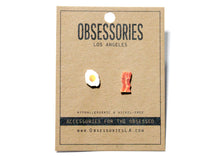 Egg & Bacon Earrings