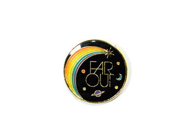 Far Out Enamel Pin
