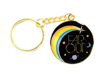 Far Out Key Chain