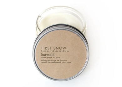 First Snow 4oz Soy Candle