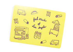 Food Trucks of Los Angeles Postcard