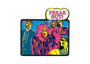 Frank Zappa Freak Out Album Enamel Pin