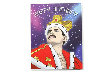 Freddie Mercury Birthday Card