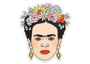 Frida Flower Crown Sticker