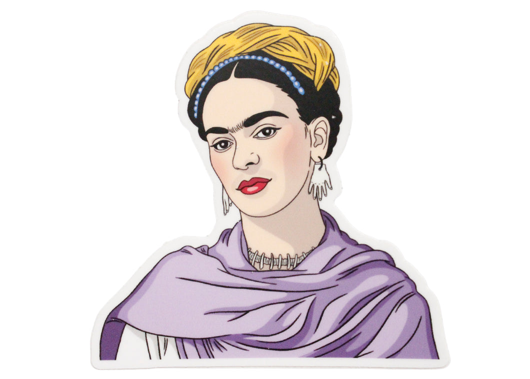 Frida Kahlo Shawl Sticker