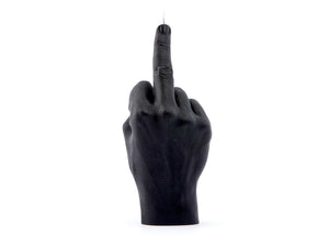 Fuck You Candle in Black