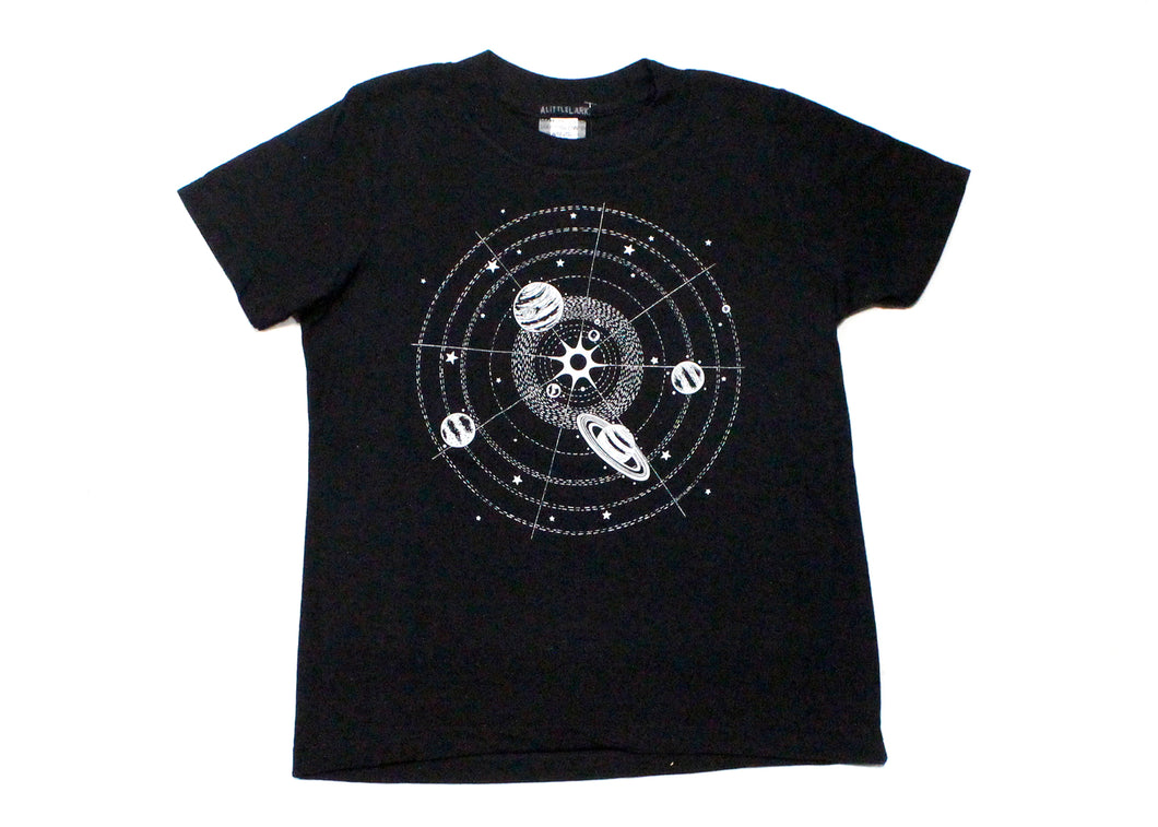 Kids Glow-In-The-Dark Solar System Tee