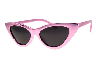 Gee Whiz Sunglasses in Metallic Pink