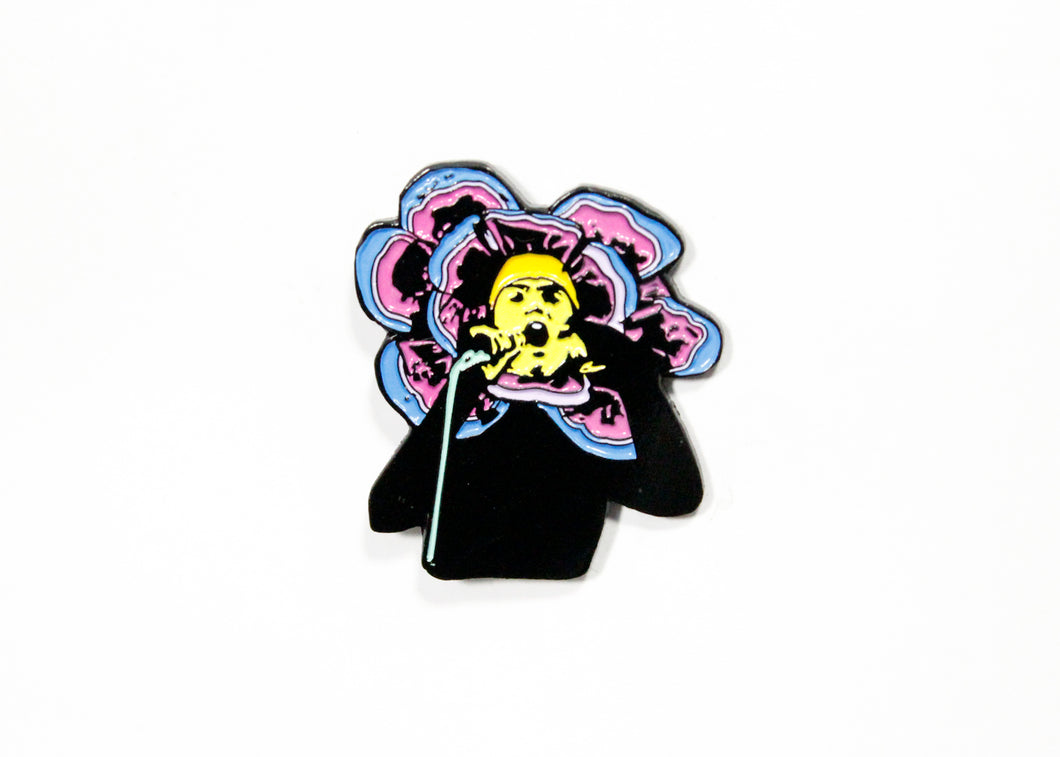 Genesis Flower Enamel Pin