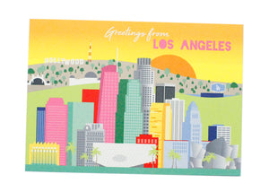 Greetings from Los Angeles Postcard