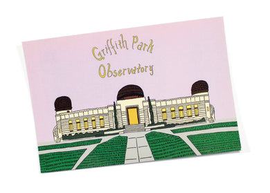 Griffith Park Observatory Postcard
