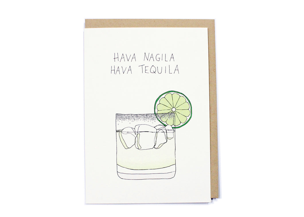 Hava Tequila Card