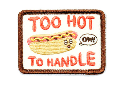 Hot Dog Iron-On Patch