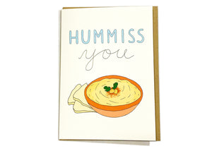 Hummiss You Card
