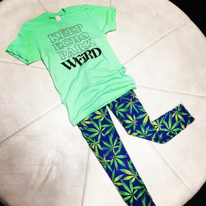 Marijuana Leggings Size XS/S