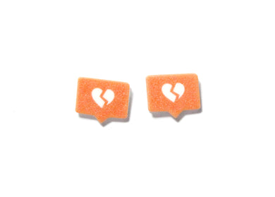 Insta Broken Heart Earrings