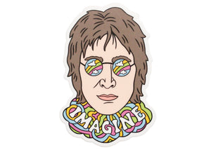 John Lennon Imagine Sticker