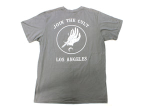 Join The Cult Tee Gray (XL only)
