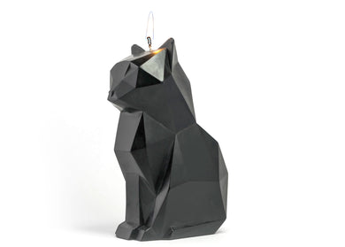 Kisa PyroPet Candle in Black