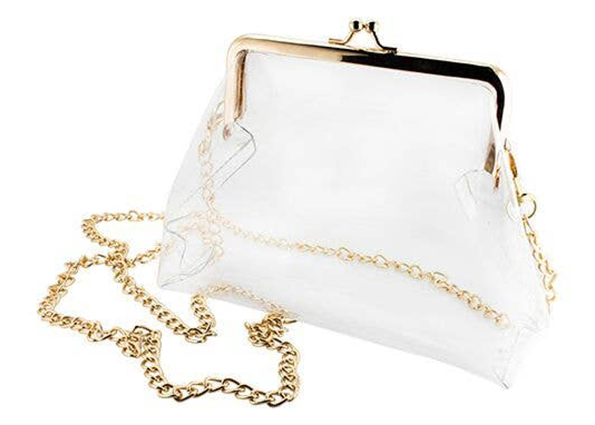 411ae369632d Kisslock Clear Crossbody Purse