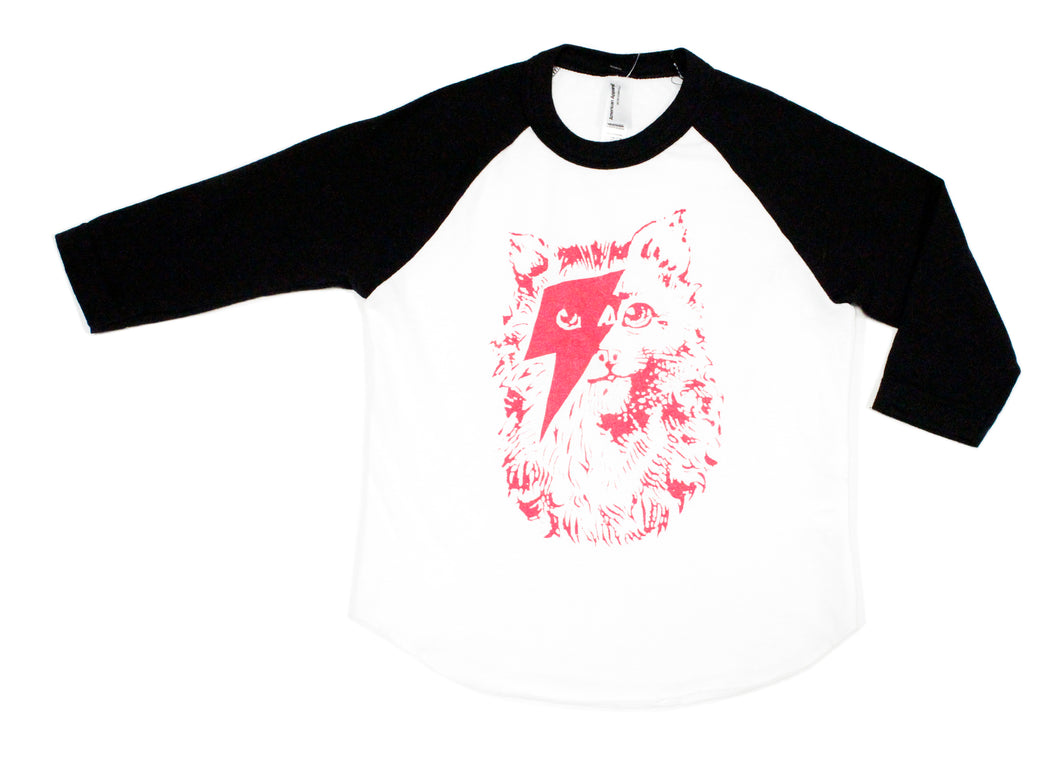 Kids Kitty Stardust Baseball Tee