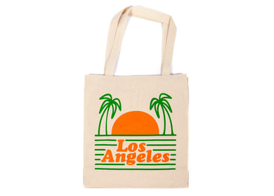 Los Angeles Beach Tote in Natural