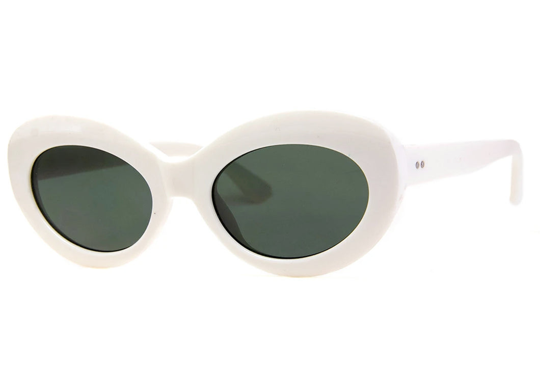Lava Sunglasses in White