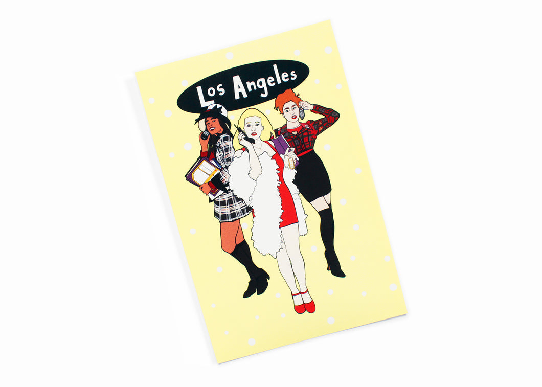 Clueless Los Angeles Postcard
