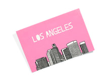 Los Angeles Set of 5 Postcards