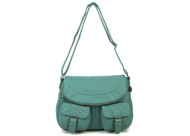 The Annabell Messenger Bag in Teal