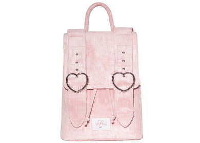 Madeline Backpack in Blush Pink Corduroy