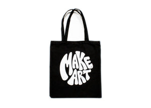 Make Art Tote Bag