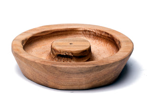 Maple Round Incense Holder