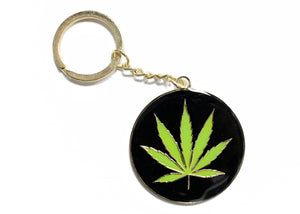 Marijuana Key Chain
