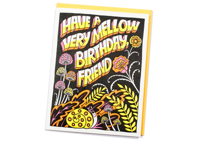Mellow Birthday Card