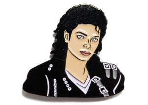 Michael Jackson Who's Bad? Enamel Pin