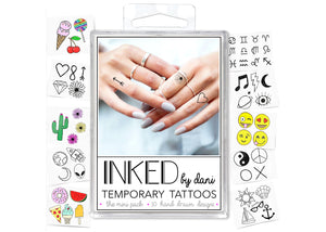 The Mini Pack Temporary Tattoos