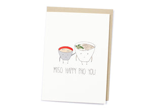 Miso Happy Pho You Card