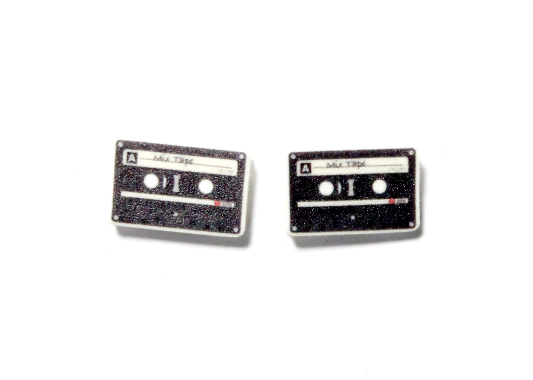 Mix Tape Earrings