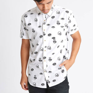 Morning Glory Button-Up Shirt