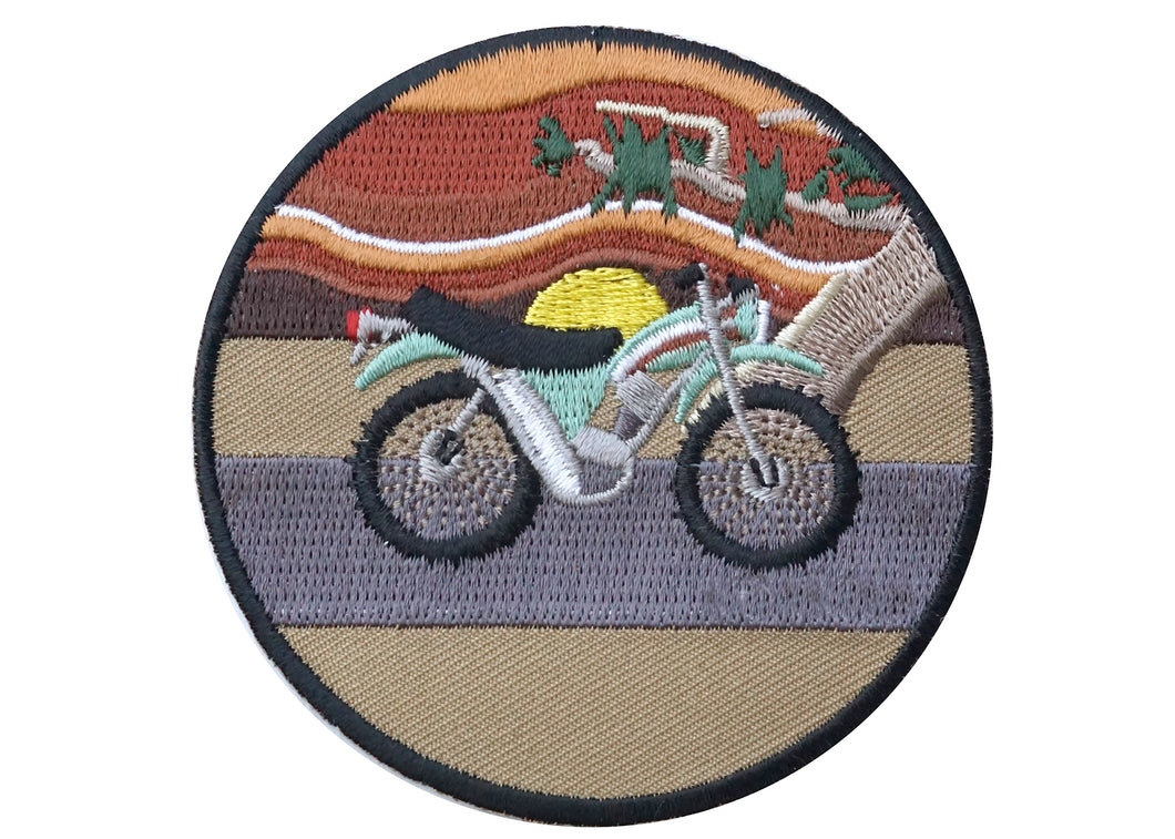Moto Iron-On Patch
