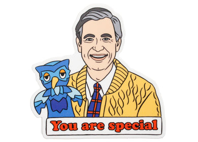 Mr. Rogers You Are Special Sticker