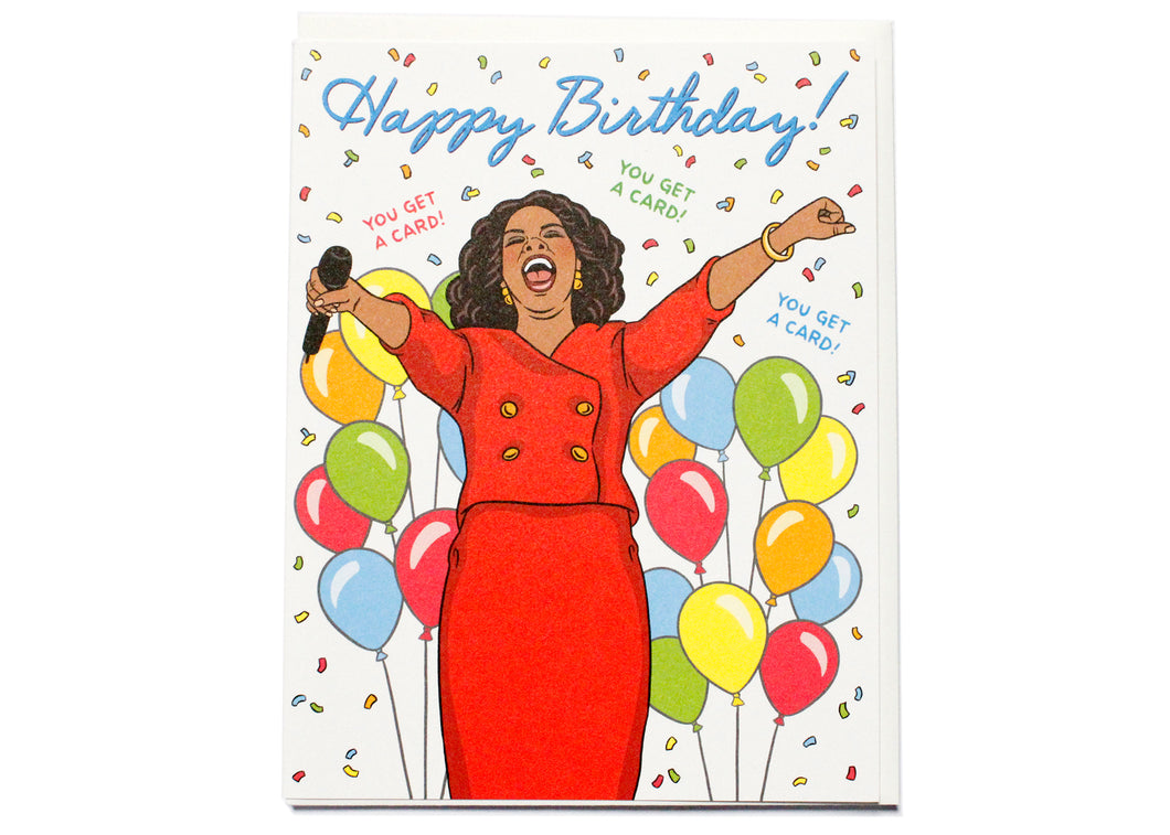 Oprah Birthday You Get A Card
