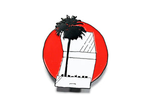 Palm Tree Matchbook Pin