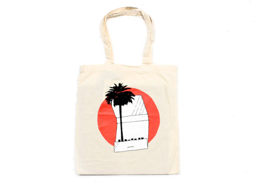 Palm Tree Matchbook Tote Bag
