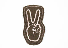 Peace Chain Stitched Sew-On Patch