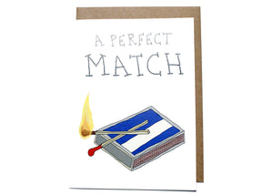 A Perfect Match Card