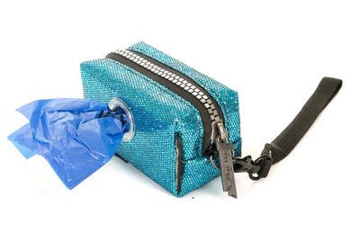 Poopy Cute Pouch in Glam Blue