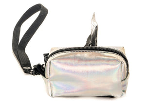 Poopy Cute Pouch in Metallic Moonraker
