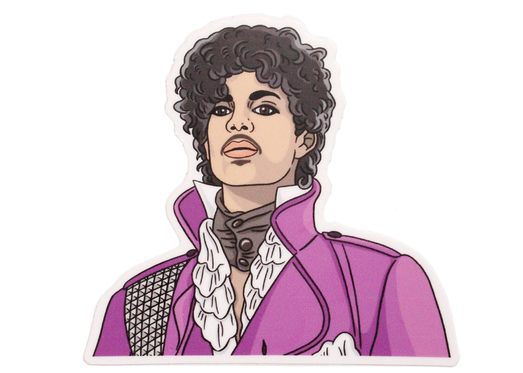 Prince Jacket Sticker